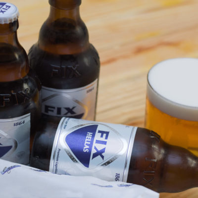 Egeo-Suvlakeria_griego-Lavapies-Fix-beer
